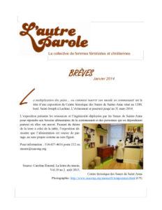 thumbnail of Les Brèves
