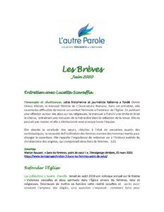 thumbnail of Les Breves – Juin 2020