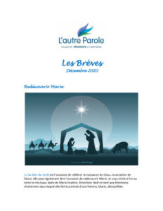 thumbnail of Les Breves – 2020 Decembre