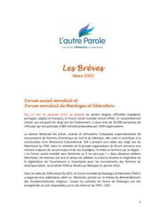 thumbnail of Les Breves – 2021 Mars